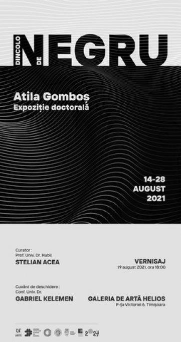 """Expoziție doctorală """"DINCOLO DE NEGRU"""""""