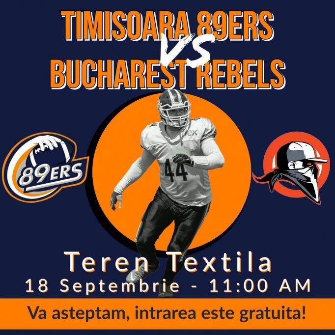 Timisoara 89ers - Bucuresti Rebels