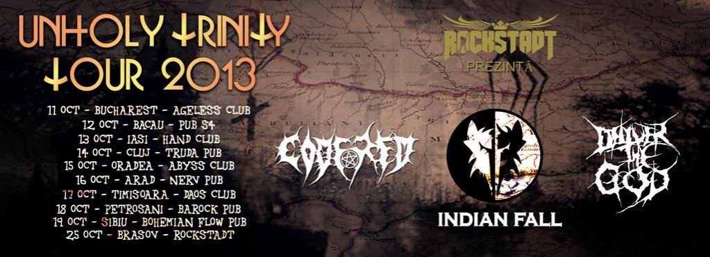 Indian Fall @ Unholy Trinity Tour 2013