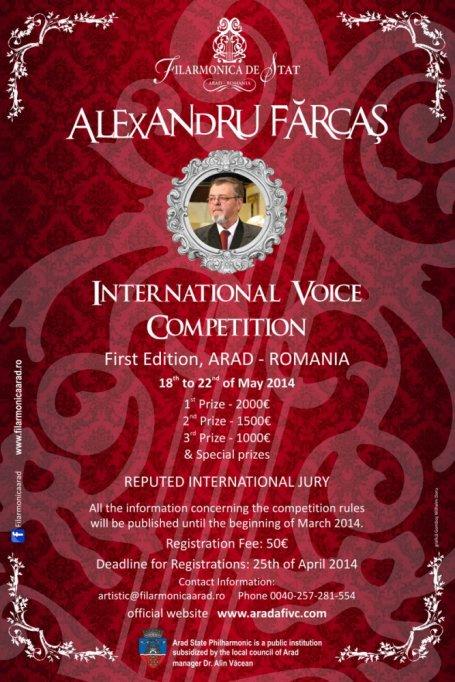 Concursul International de canto Alexandru Farcas
