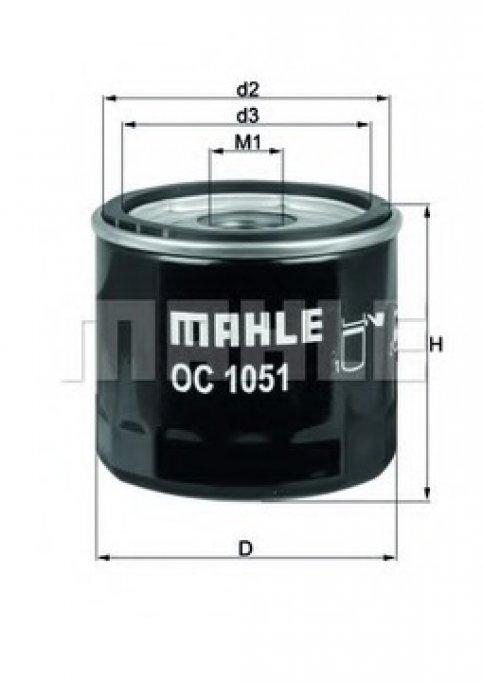 Filtre de ulei Mahle pentru masina ta