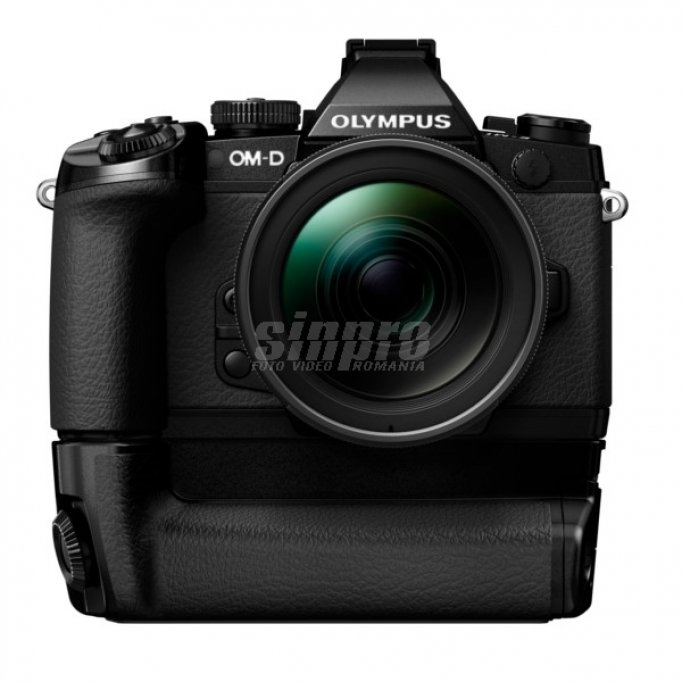Promotie- Olympus E-M1 kit 17 mm f/1.8 black + CADOU: grip HLD-7!