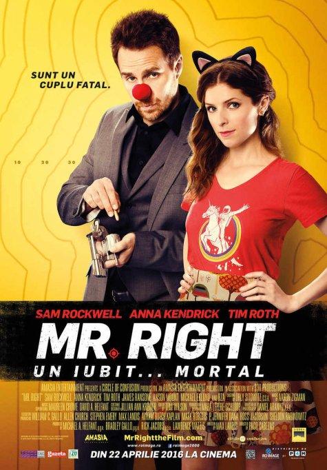 Mr. Right. Un iubit...mortal 2D