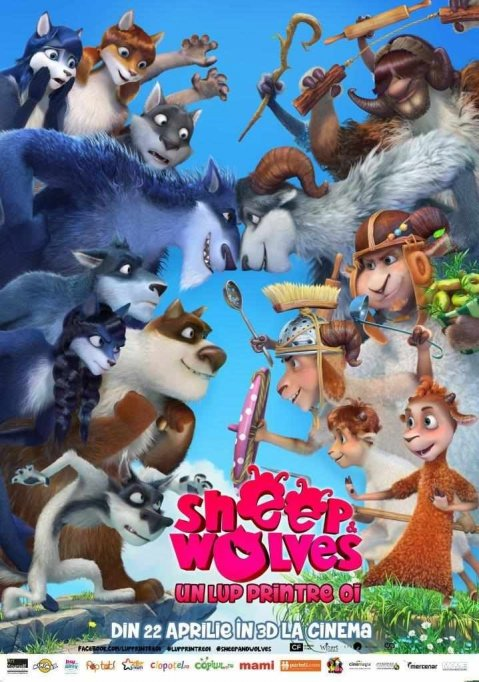 Sheep and wolves 3D dubbed