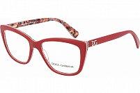 Ochelari de vedere Dolce & Gabbana DG3190 Dama - culoare Rosie