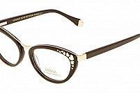Ochelari de vedere Emilia Line femei IV_62-004 Negru Auriu