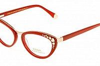 Ochelari de vedere Emilia Line femei IV_62-004 Rosu Auriu