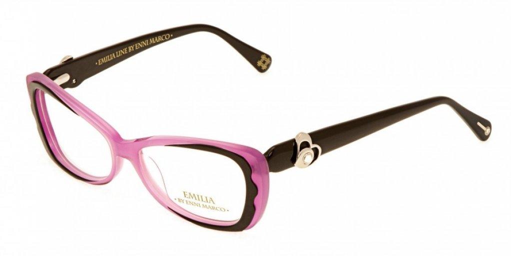 Ochelari de vedere Emilia Line femei IV_62-012 Roz Negru