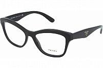 Ochelari de vedere Prada Dama PR29RV - culoare Neagra