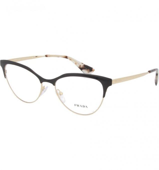 Ochelari de vedere Prada Dama PR555V - culoare Aurie