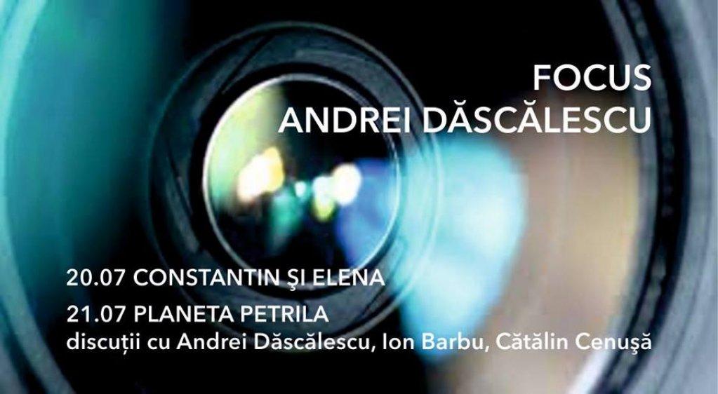 Constantin şi Elena - Proiecţie de film
