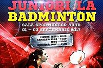 Internationalele Romaniei de juniori la Badminton