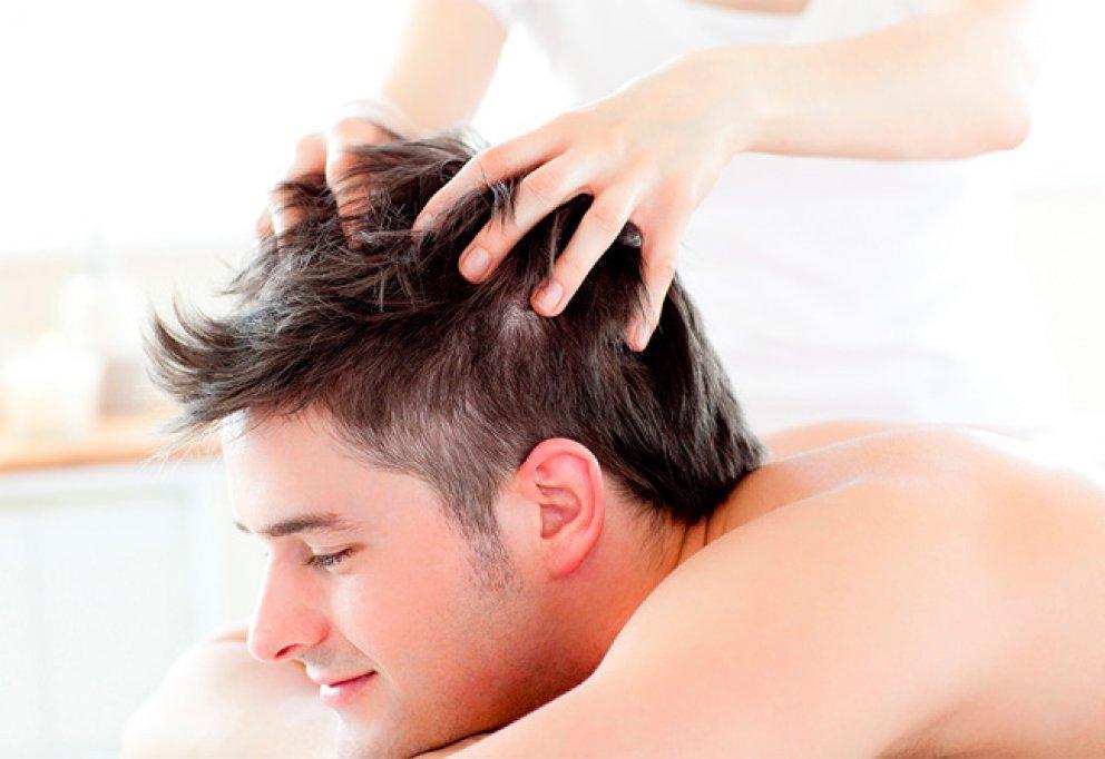 Masajul scalpului