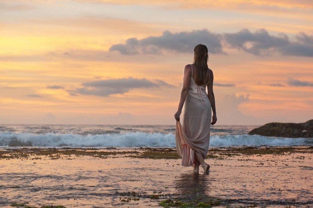 Rochie de plaja crosetata