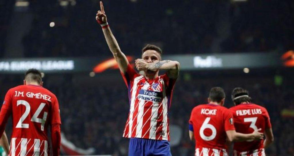 Europa League: Favorita numarul 1surclaseaza Lokomotiv Moscova pe Wanda Metropolitano din Madrid