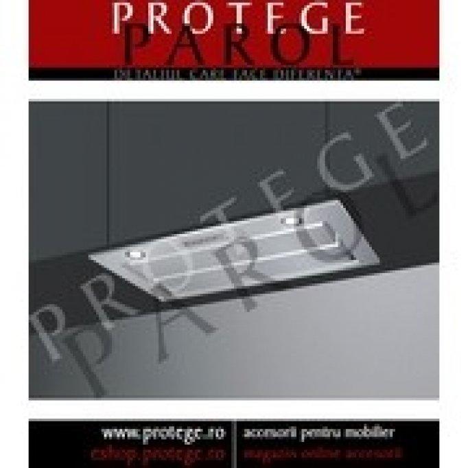 Hota incorporabila 54 cm, inox, SMEG Italia