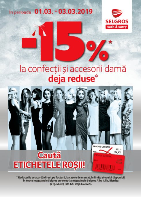 Oferte la haine si accesorii pentru femei
