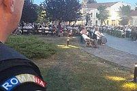"""Jandarmii arădeni alături de cetățeni și la manifestările religioase prilejuite de sărbătoarea creștină ,,Adormirea Maicii Domnului"""""""