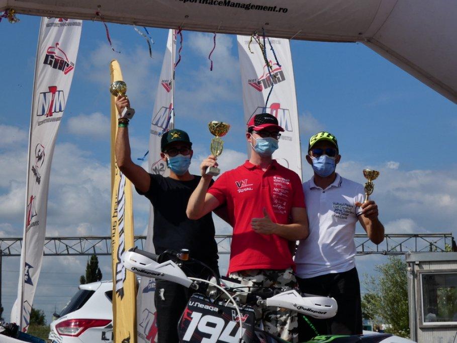Vlad Neaga câștigă la CNIR Supermoto, clasa SOpen