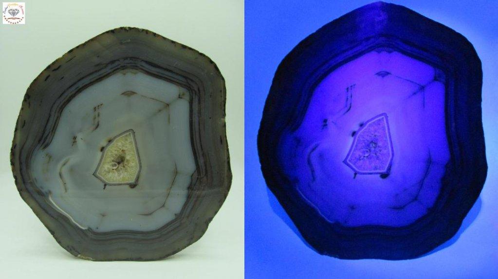 Fluorescența geodelor