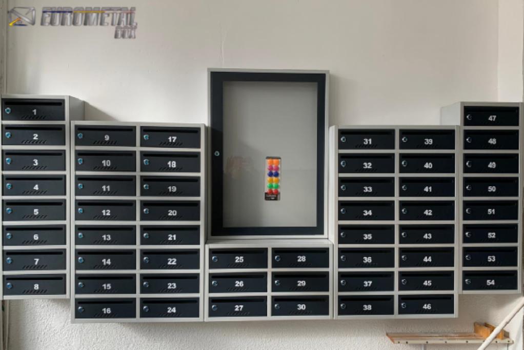 Eurometal Box - cutii poștale standard, premium sau de lux