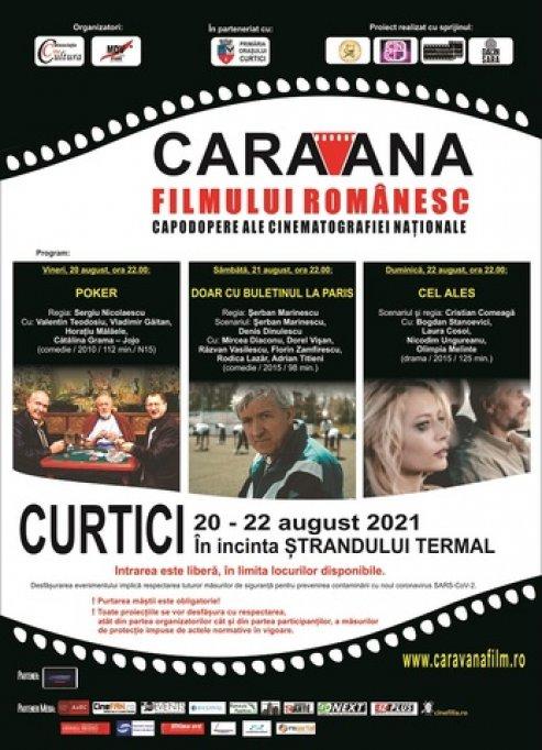 """""""Caravana filmului românesc"""" poposește la Curtici"""