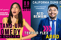 Stand-Up Comedy in English ·award winning comedian · Arad