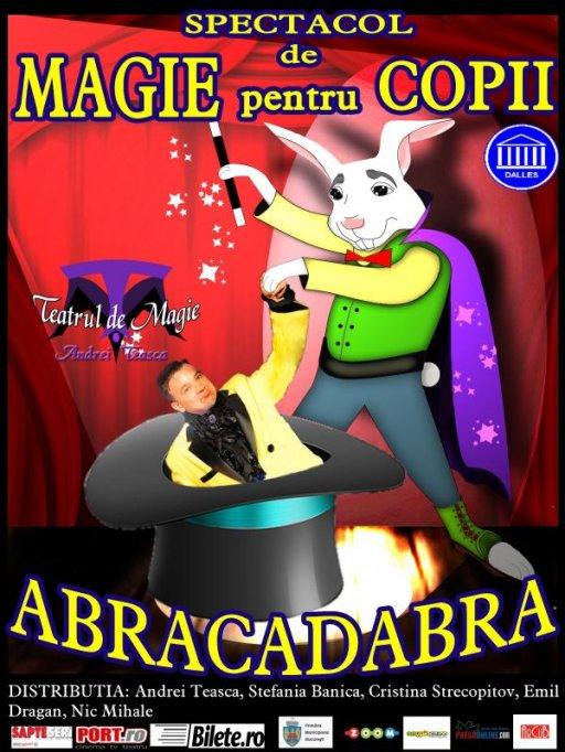 Spectacol de magie pentru copii - Abracadabra