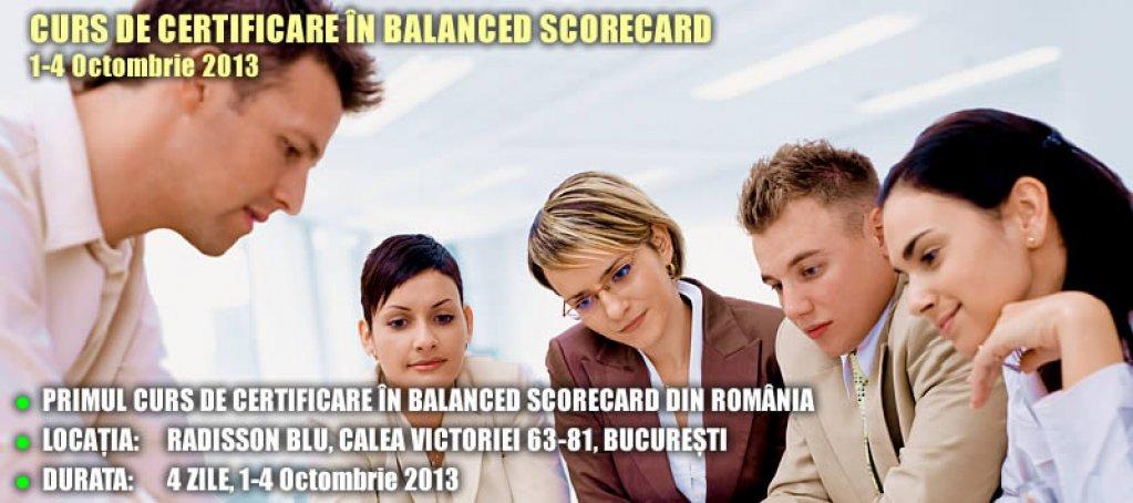 Curs de Certificare in Balanced Scorecard