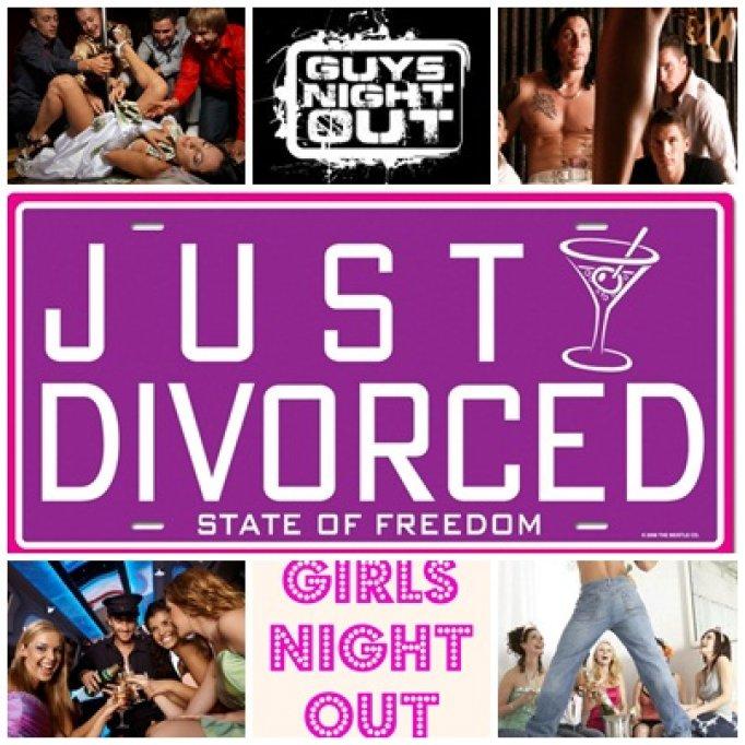 Petreceri de divort: modul de a incepe o noua viata