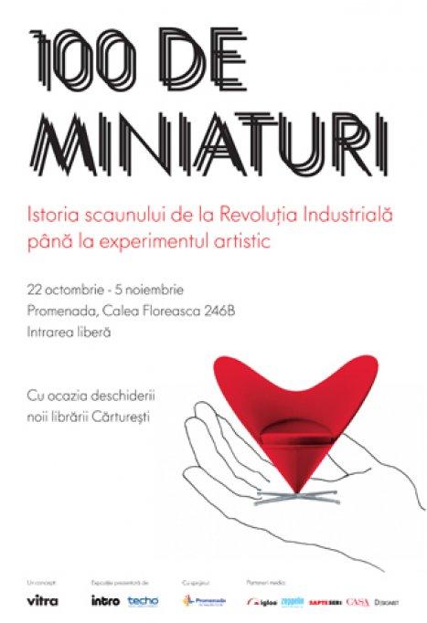 Expozitia 100 de miniaturi
