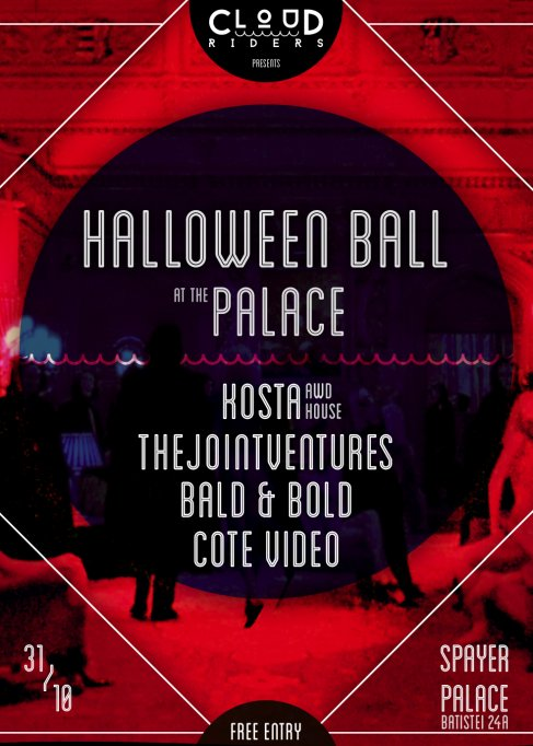 Cloud Riders pres. Halloween Ball at the Palace