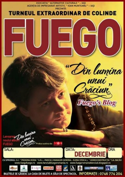 Fuego - Turneul national de colinde: Din Lumina unui Craciun - Bucuresti