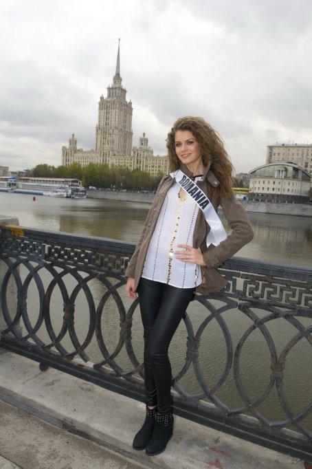 Reprezentanta Romaniei la Miss Universe® 2013 a ajuns la Moscova!