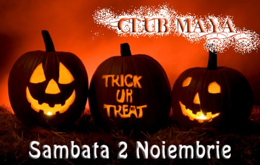 HALLOWEEN PARTY in CLUB MAYA