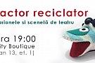 Micul actor reciclator - Atelier de marionete și scenetă de teatru