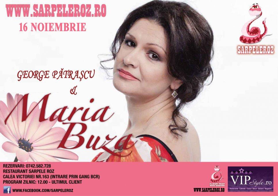 Maria Buza & George Patrascu, la Sarpele Roz