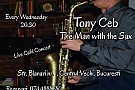 Tony Ceb: The Man with the Sax @ Fifteen