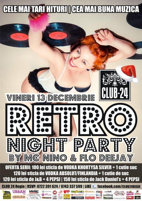 RETRO NIGHT PARTY by MC NiNO & FLO DeeJay