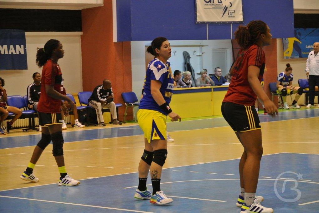 Meci amical Romania 28-18 Angola