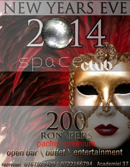 Revelion 2014@ Space club