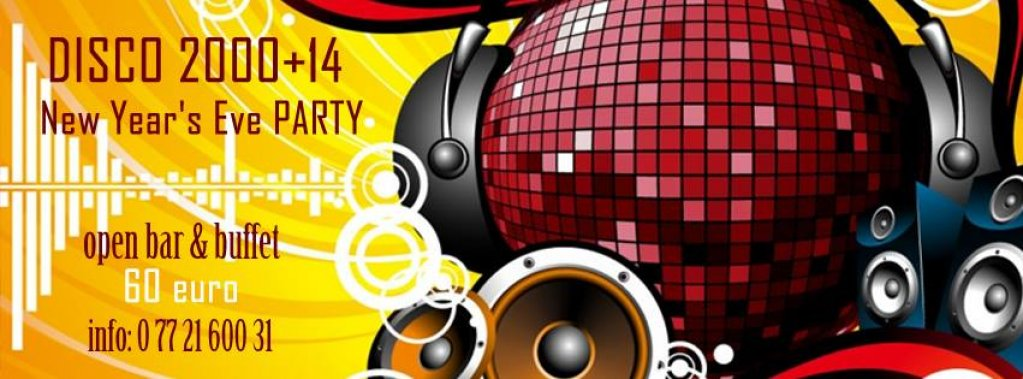 Disco 2000+14 New year's eve party!