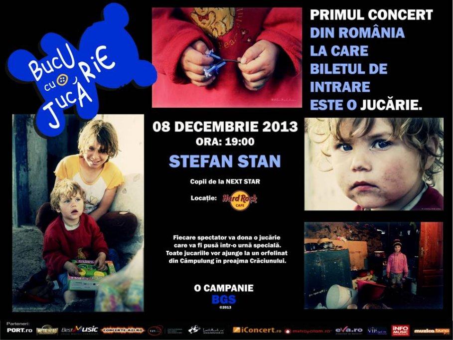Concert Caritabil cu Stefan Stan