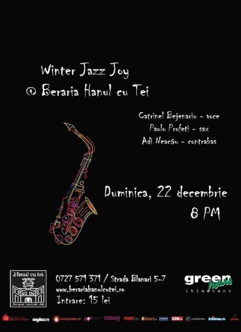 Winter Jazz Joy @ Beraria Hanul cu Tei