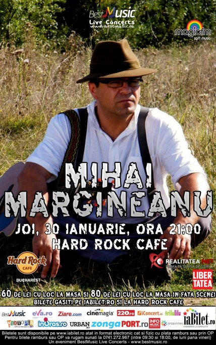 Margineanu blocat 25 de ore la Lehliu, ajunge la Hard Rock Cafe joi!