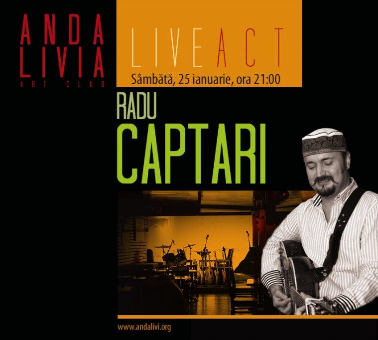 Radu Captari, invitat la Andalivia Art Club