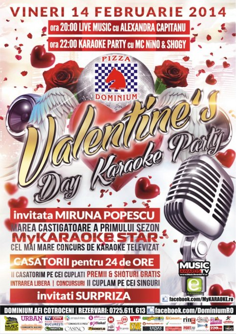 Valentine's Day Karoke Party