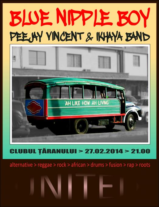 Concert Blue Nipple Boy la Clubul Taranului Bucuresti