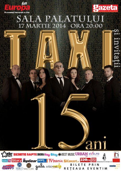 """Maia Morgenstern urează """"La mulți ani"""" trupei Taxi"""