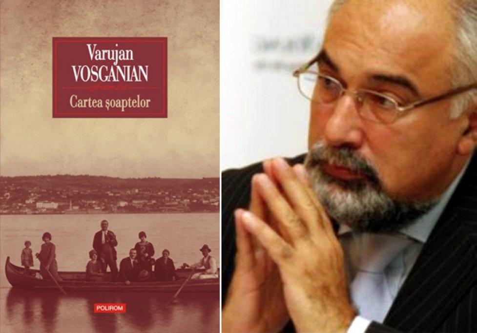 Nominalizare la Premiul Tirgului de Carte de la Leipzig: Cartea soaptelor, de Varujan Vosganian